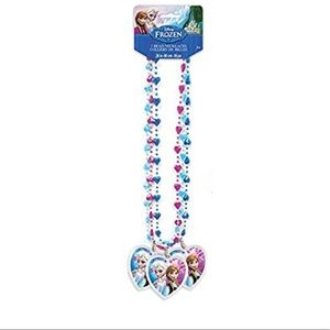 Disney Frozen Bead Necklace Party Favors, 3ct